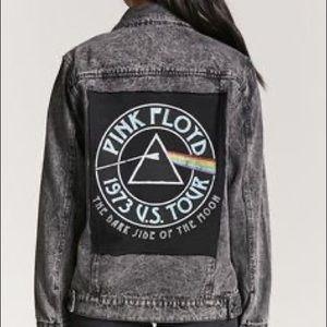 Pink floyd jean jacket